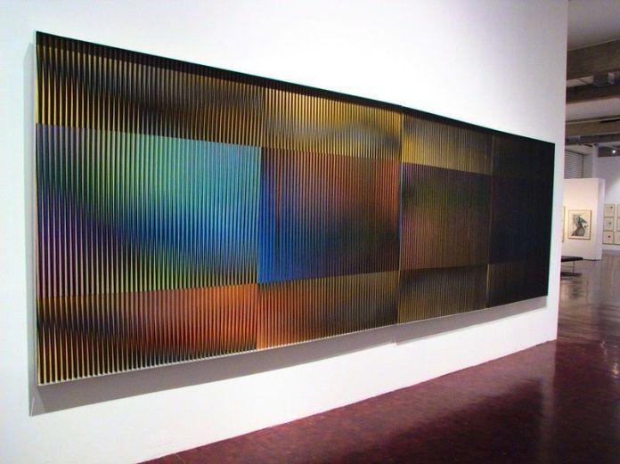 Fisicromía Mural 1980. Galería de Arte Nacional