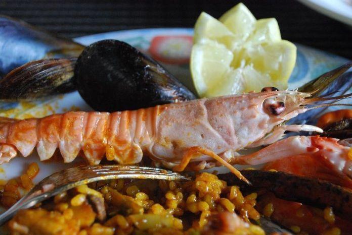 Delicias del mar en Playa Caribe