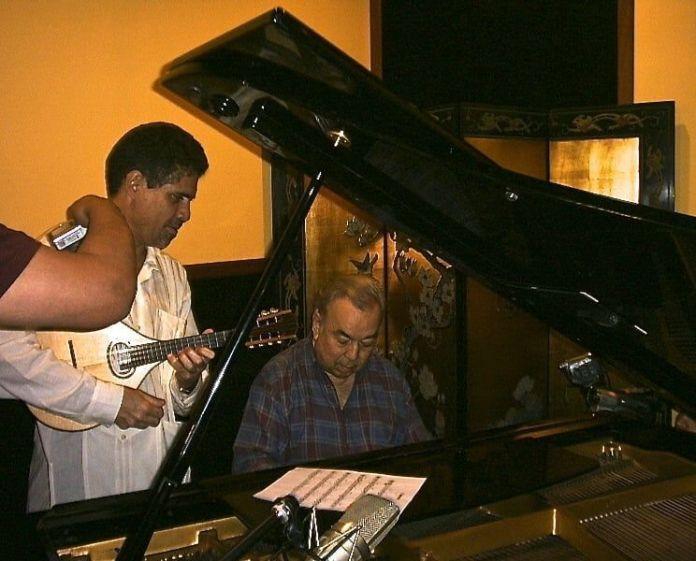 Aldemaro Romero con Saul Vera