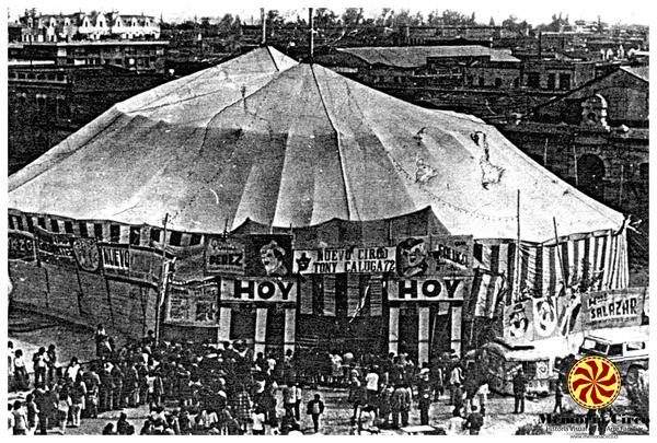 Memoria Circo: reflexiones sobre el trabajo de la memoria en las familias circenses.
