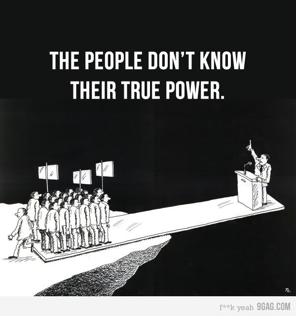 La Represión como respuesta del Gobierno a las demandas ciudadanas y la falta de Representación de un sistema viciado.