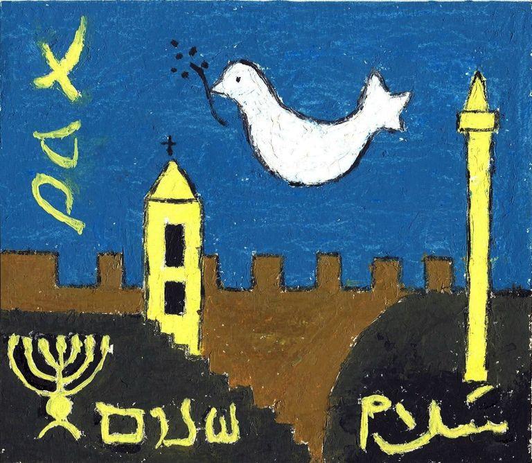 """Una pequeña vuelta y mirada """"infantil"""" al conflicto árabe-israelí: la política y su conflicto de interés."""