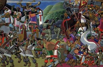 Los malditos invasores españoles