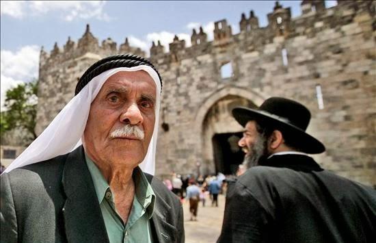 Judíos y palestinos por la paz