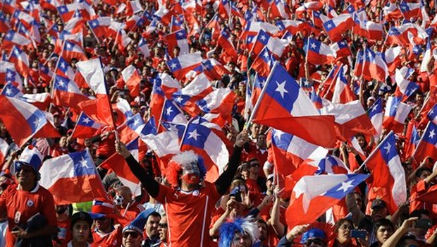 Ahora o nunca. Todo o nada. Sí o no. Chile Campeón.