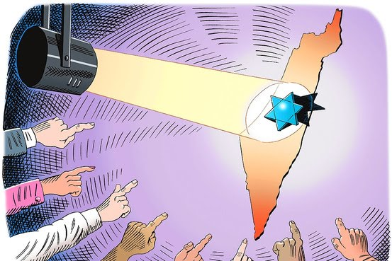 Sin asco contra Israel