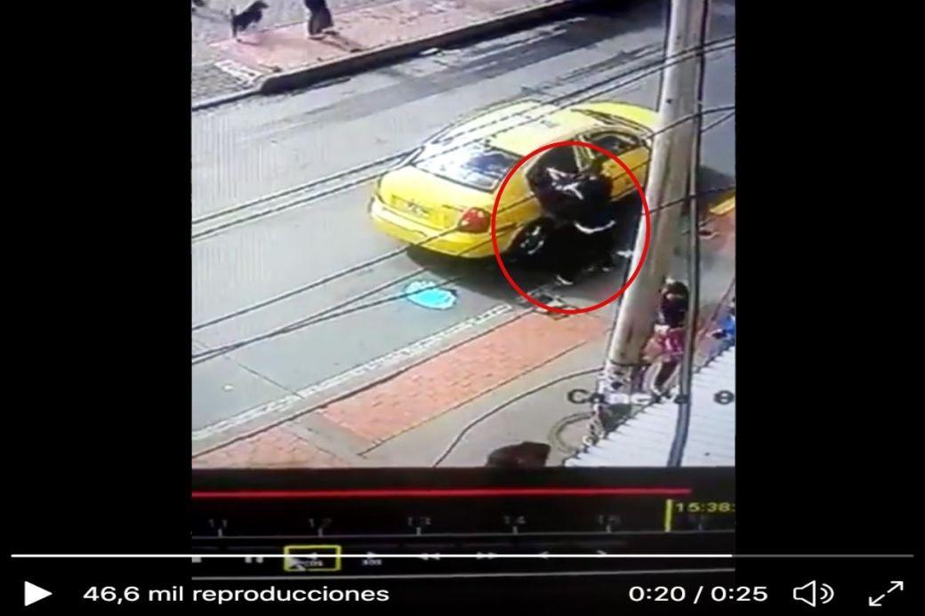 VIDEO: Sicario mata a balazos a cantante de rap cuando abordaba taxi