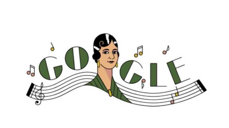 Google celebra con Doodle a la cantante y compositora María Grever