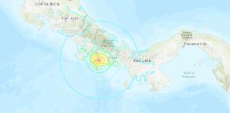 Sismo en Panamá Puerto Armuelles