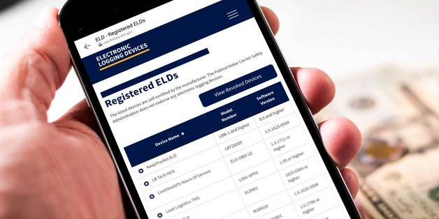 The FMCSA Reminds Safety Inspectors the Importance of Registered ELDs