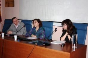 JA Martinez Comeche, Rosa Vilallón, Raquel Ibañez ©María Olivera Zaldua