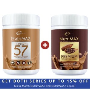 Nutrimax57 series mix and match