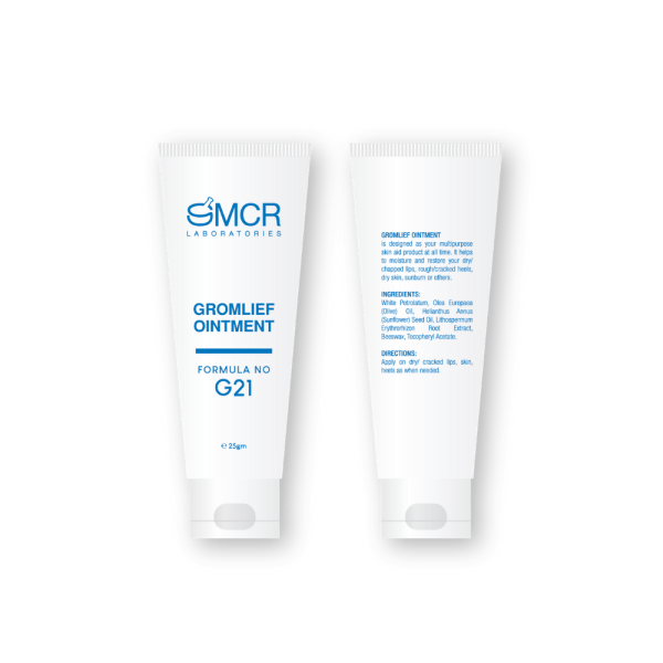 smcr creams gromlief ointment 1 to 1