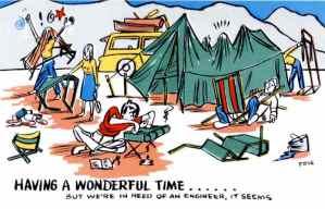 Having a Wonderful Time...