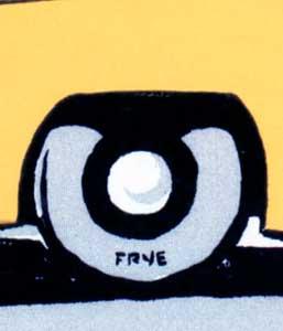 Art by Eldon Frye logo