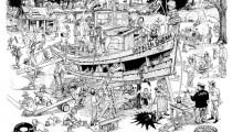 Boating Multigiggle Cartoons