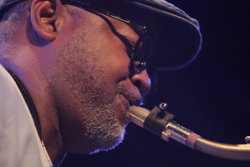 "Saxophonist Eldon ""T"" Jones Portland, OR"