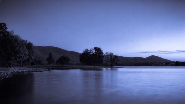 Midnight Blue - Lake - Photo