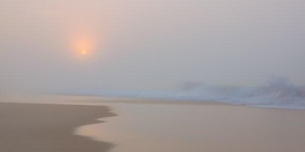 Through The Haze - Beach - Photo