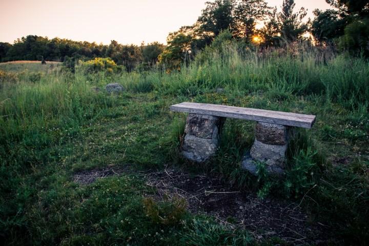 Sunset Bench - Bench - Photo