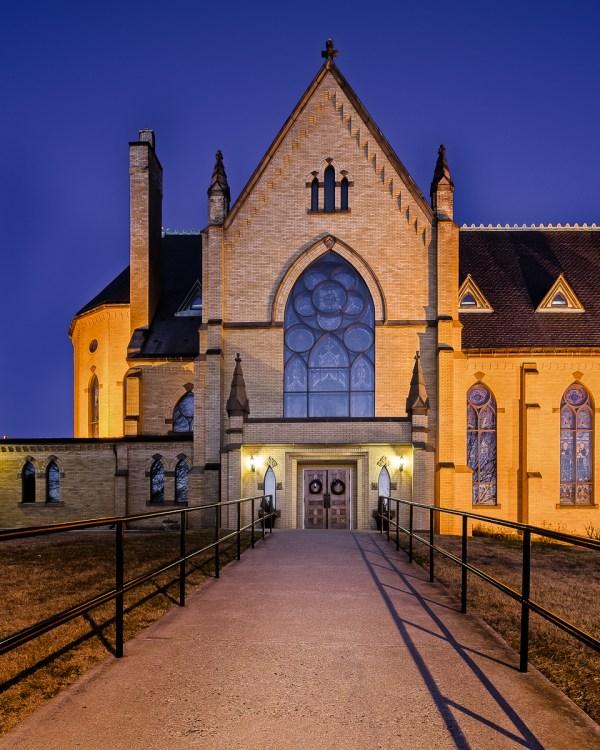 Walking Home - Church - Photo