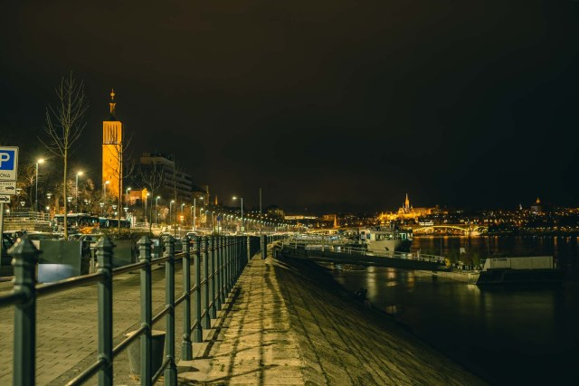 Danube, Margaret Bridge, Pozsonyi úti Református Egyházközség Hálaadás temploma and Fisherman's Bastion