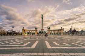 Hero's Square and Millennium Monument
