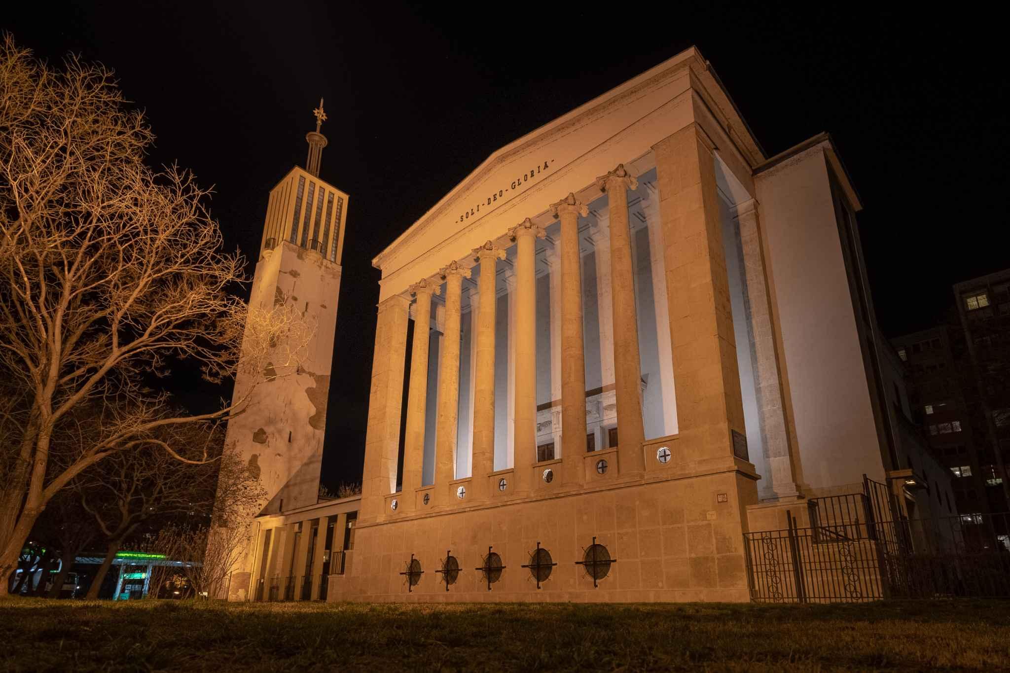 Soli Deo gloria - Reformed Church in Budapest