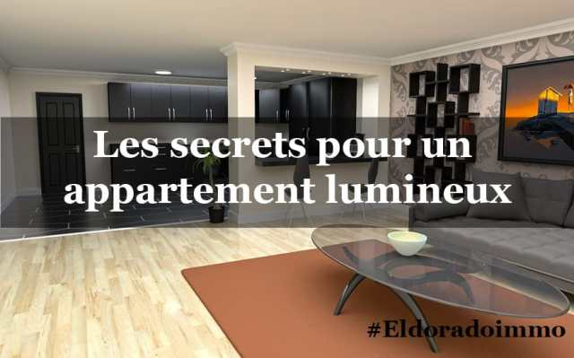 Exemple d'appartement lumineux