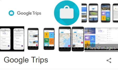 google trips location vacances
