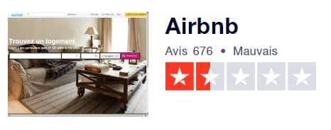 avis airbnb