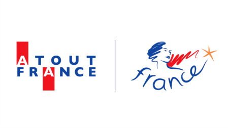 Logo de Atout France en charge du classement des meublés de tourisme