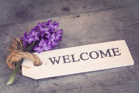 Une lettre de bienvenue est toujours ... bienvenue !