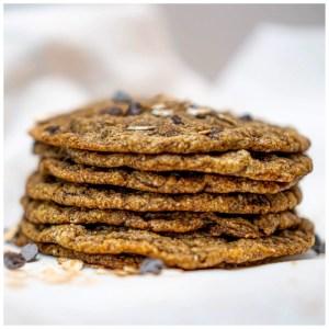 cookies vegan empilés