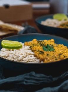 curry pois chiche épinards
