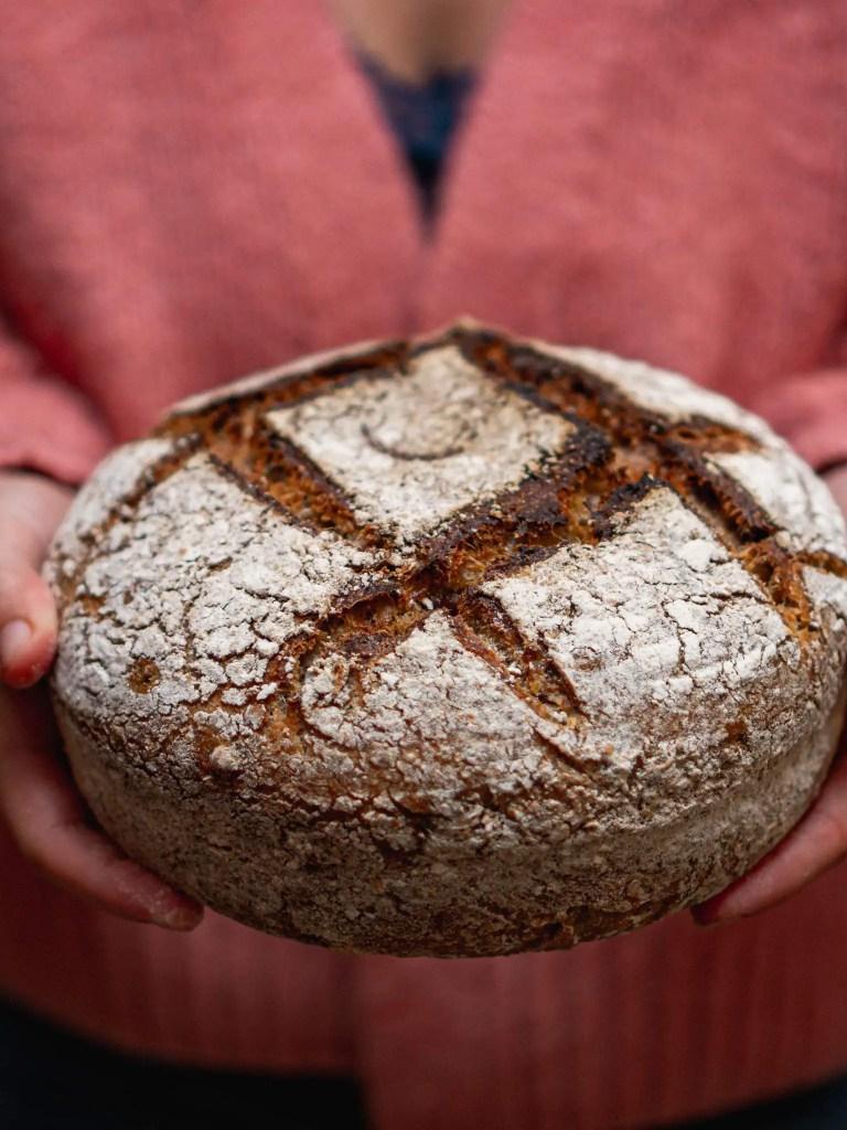 pain au levain fait maison