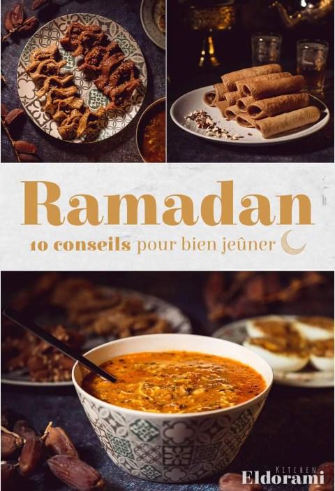 Affiche ramadan 10 conseils pour bien jeûner