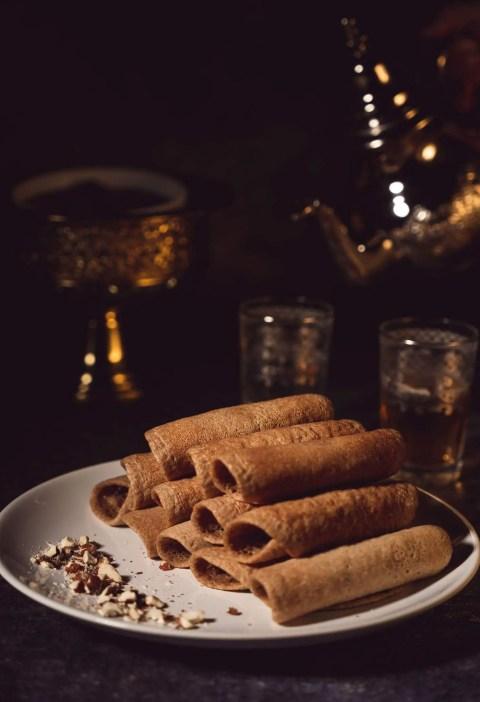 Baghir farine complète crêpes mille trous