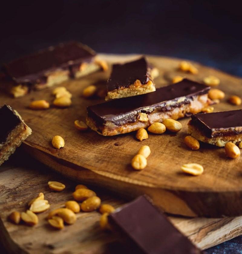 snickers maison healthy sans gluten et sans lactose