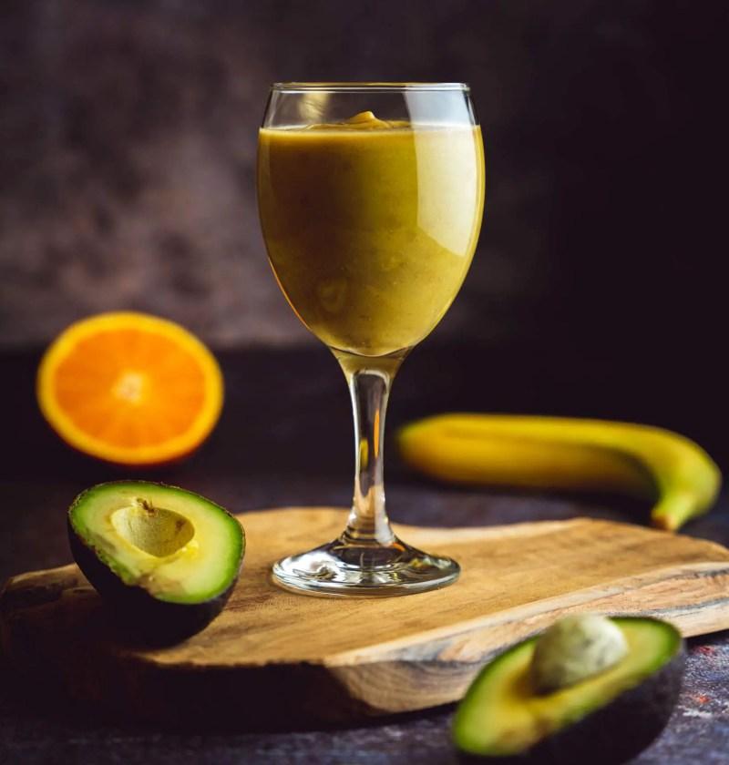 smoothie avocat orange jus avocat banane orange