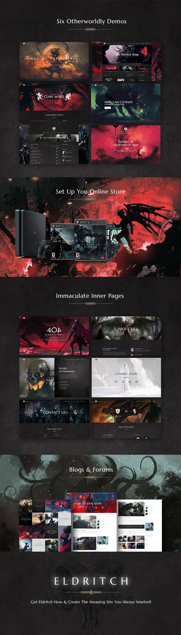 Eldritch - Epic Theme for Gaming and eSports - 1