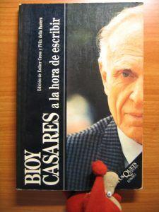 A la hora de escribir, de Bioy Casares