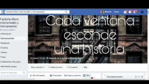 Factoría Micro en Facebook 2