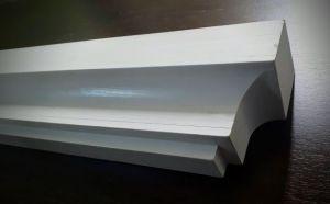 puidust valge karniis PROF3