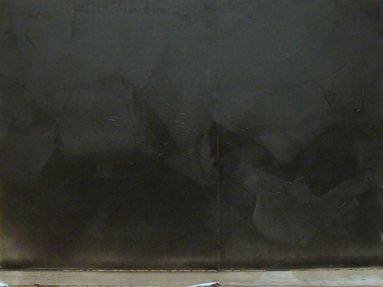 Erased Chalkboard, 2012