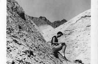 1954 Eleanor Dickinson drawing Gold Canyon Arizona