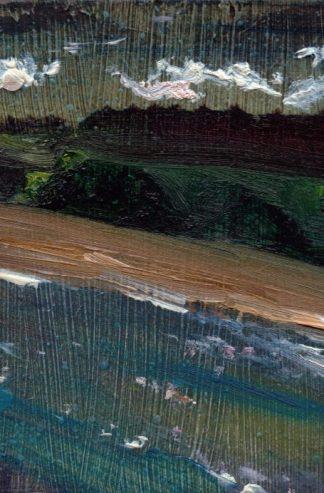 Coastal Dreams Cullercoats, Oil on Panel Eleanore Ditchburn