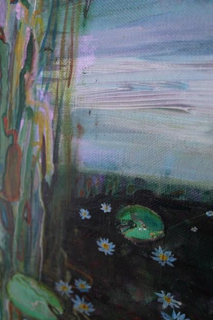Waterlilies 2 Eleanore Ditchburn Detail