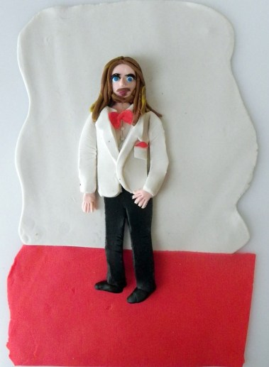 Jared Leto from The Oscars in Play-Doh commissioned by AnOthermag.com March 2014