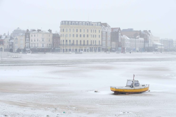 The Yellow boat, Margate